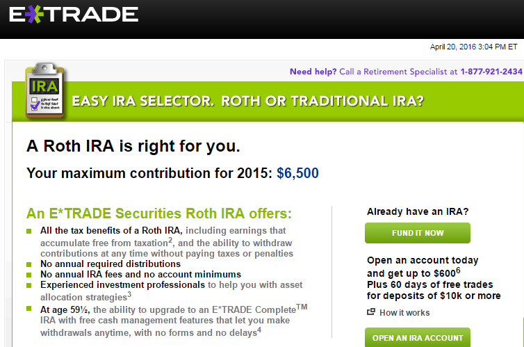 Can options be traded in an ira account