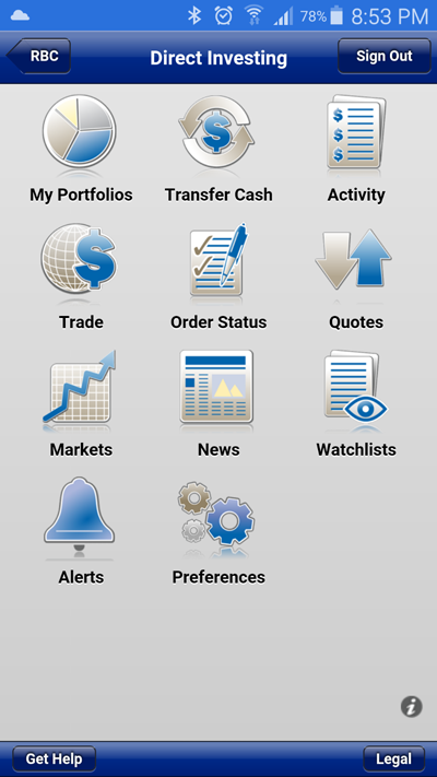 Online trading canada review