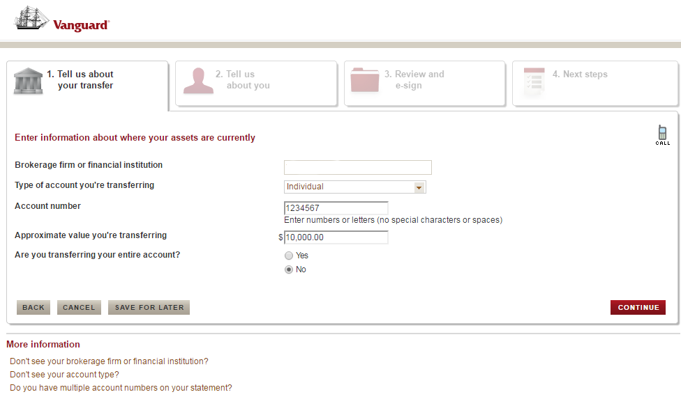 how to find etrade account number