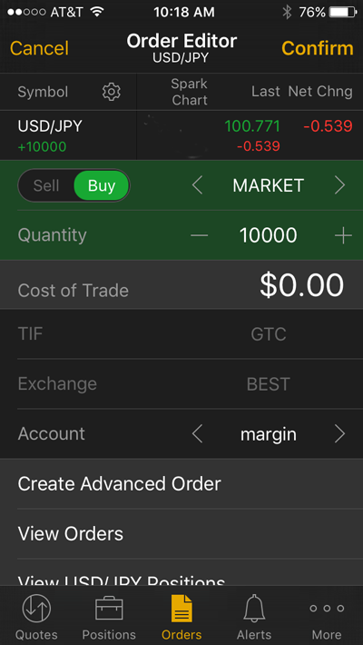 Binary options trading td ameritrade