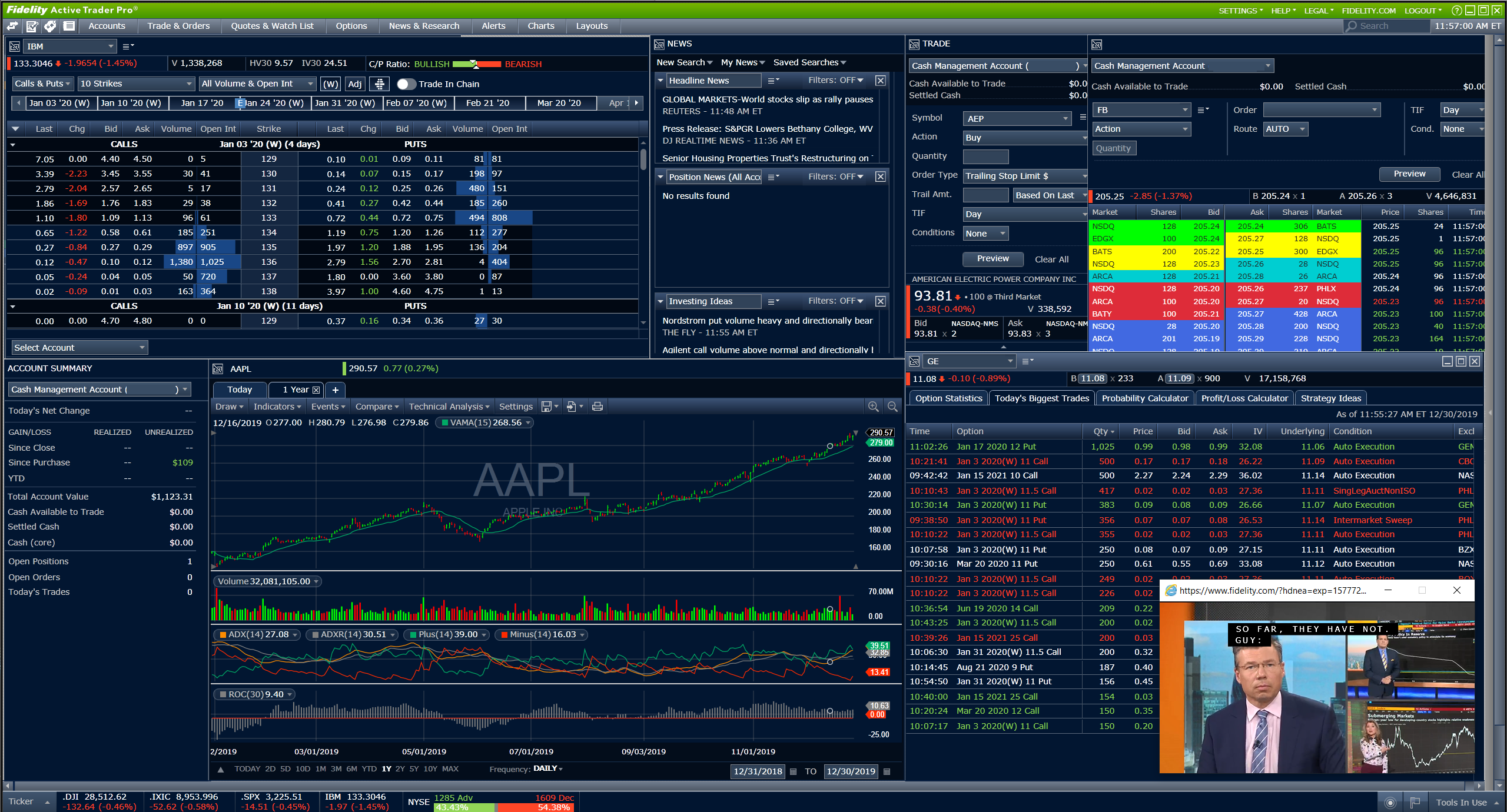 Fidelity Review: Active Trader Pro