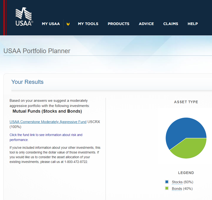 USAA Investments Account Review (2019