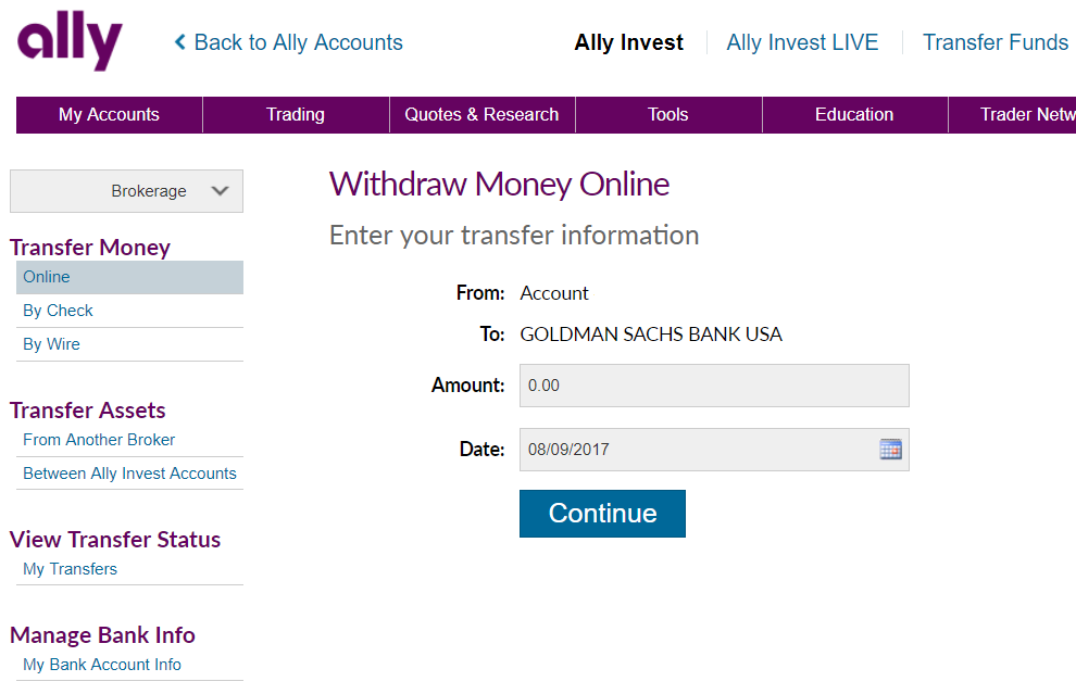 Outstanding Ally Invest Withdrawals Terms To Transfer Account Funds Money Wiring Cloud Hisonuggs Outletorg