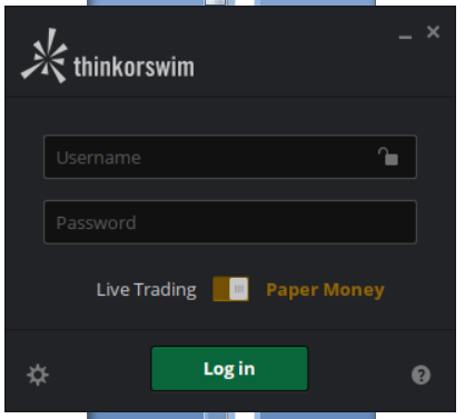 Paper trading options simulator