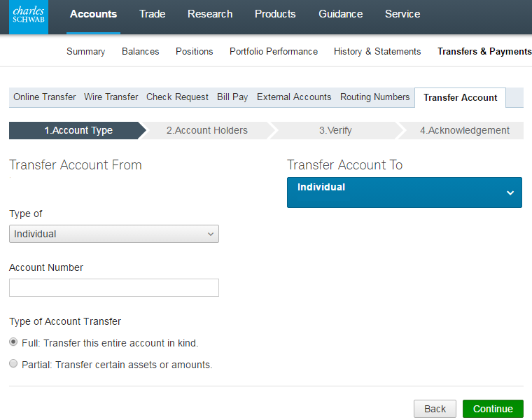 Transfer TD Ameritrade Account to Schwab, Fidelity, Etrade ...